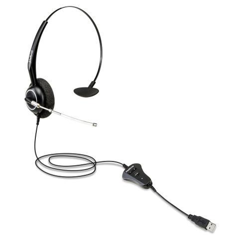 Imagem de Headset monoauricular c/microfone ths55 (conexao usb) intelbras
