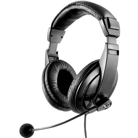 Imagem de Headset Multilaser Giant Preto C/Microfone PH049