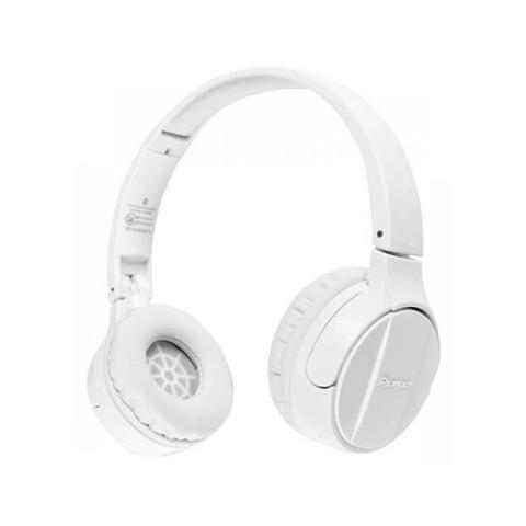 Fone de Ouvido Headphone Wireless Stereo Branco Pioneer Se-mj553bt-w