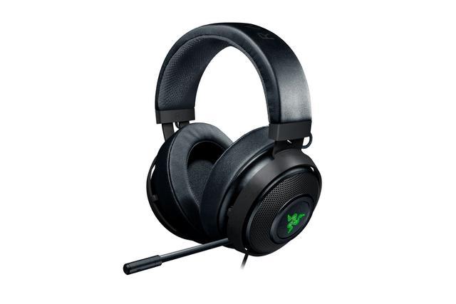 Imagem de Headset Razer Kraken V2 7.1 Com Mic (PS4, PC, MAC) - Gunmetal Edition