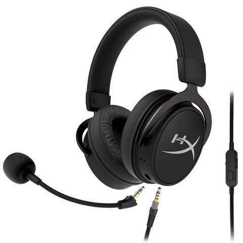 Imagem de Headset Sem Fio Gamer HyperX Cloud Mix, Bluetooth, Drivers 40mm, Preto - HX-HSCAM-GM