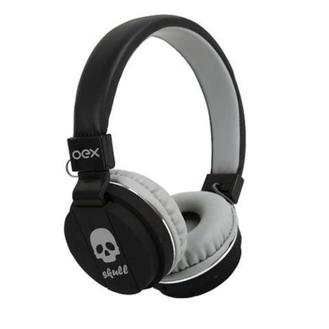 Fone de Ouvido Headphone Com Microfone Skull Hp101 Oex 479600
