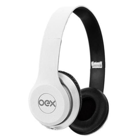 Fone de Ouvido Headphone Style Hp103 Branco Oex 492601