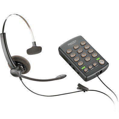 Fone de Ouvido Headset Ga Mono Plantronics Rj11 T110