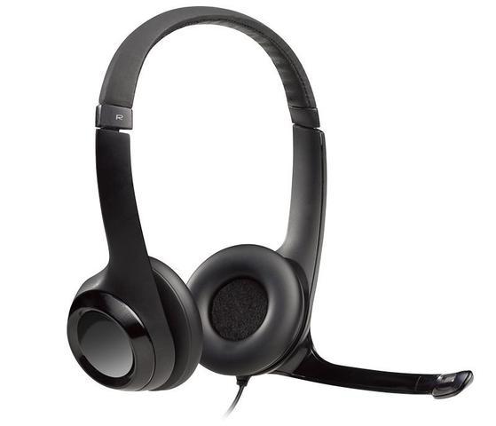 Imagem de Headset USB Logitech H390 em Couro - Logitech