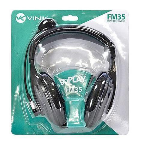 Imagem de Headset vinik multimídia com controle de volume e microfone