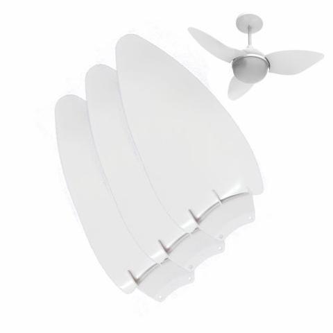 Imagem de Hélice 3 Pás para Ventilador Aliseu Smart Branco