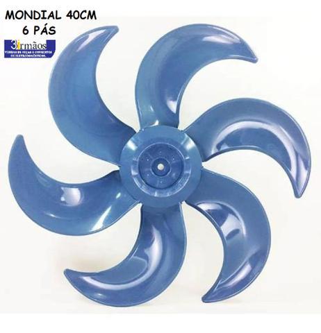 Imagem de Helice mondial 40cm 6 pas azul