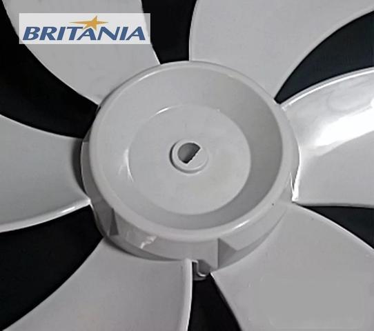 Imagem de Hélice original britania 30cm 6 pás funda cinza - Britânia