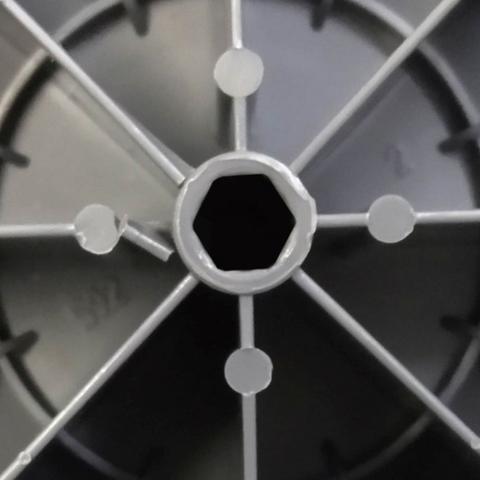 Imagem de Hélice original ventilador britânia 40cm 8 pás cinza escuro