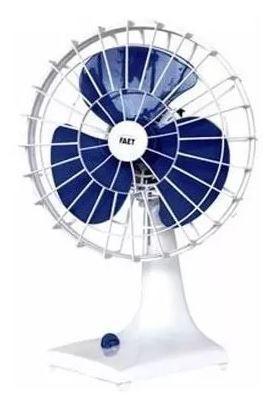 Imagem de Helice P/ Ventilador Faet 30cm Azul Original Furo Meia Lua