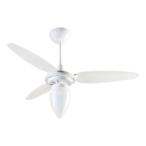 Imagem de Hélice Para Ventilador Ventisol Wind Branca Kit 3 Un