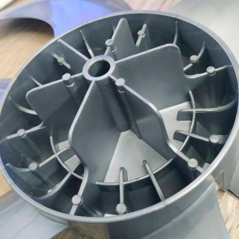 Imagem de Hélice Ventilador Arno Turbo Silencio 30cm 6 Pás Cinza