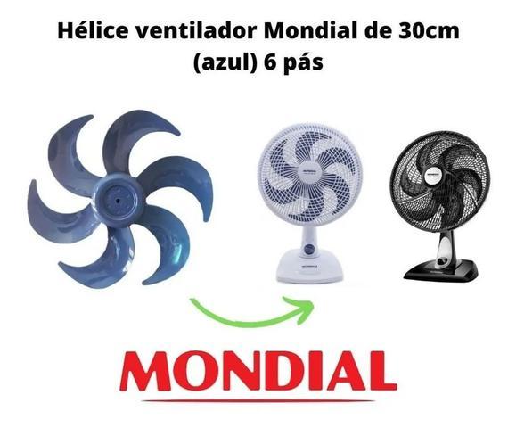 Imagem de Helice Ventilador Mondial 30cm 6 Pás Original