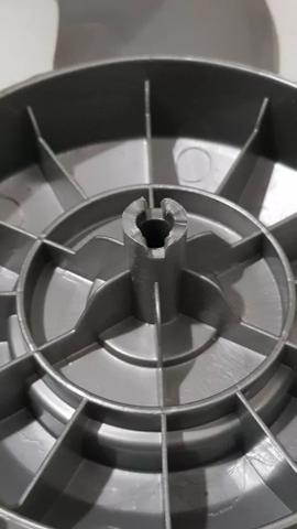 Imagem de Helice Ventilador Mondial Polishop Bravio 6 Pas 50cm Cinza / Prata