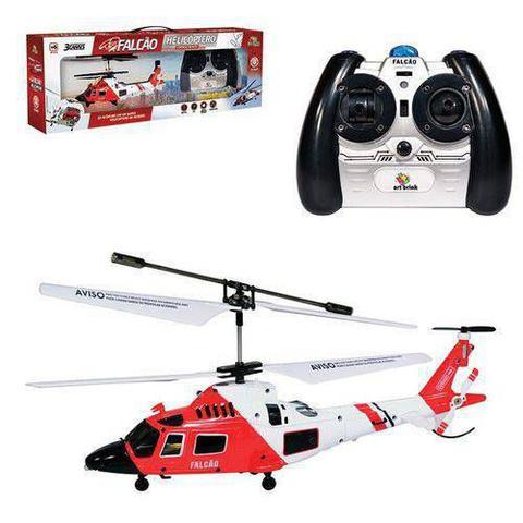 Imagem de Helicóptero Com Controle Remoto Falcão 3 Canais