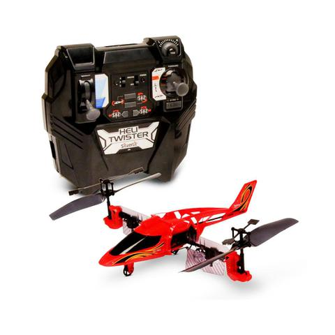 Imagem de Helicóptero Silverlit Heli Twister Rádio Controle Vermelho - DTC