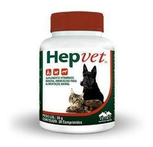 Imagem de Hepvet 30 Comprimidos - Vetnil