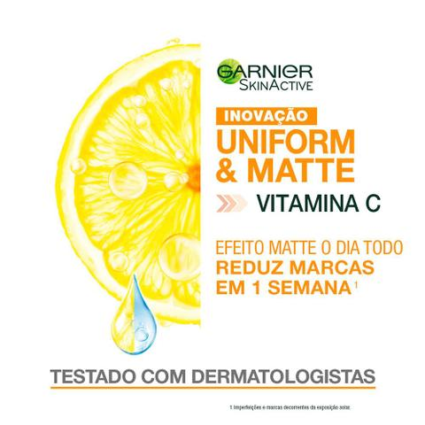 Imagem de Hidratante Facial Matte Garnier Skin UniformMatte
