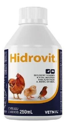 Imagem de Hidrovit Suplemento Vitaminico Para Aves Vetnil - 250 ML
