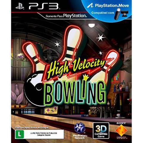 Jogo High Velocity Bowling - Playstation 3 - Sieb