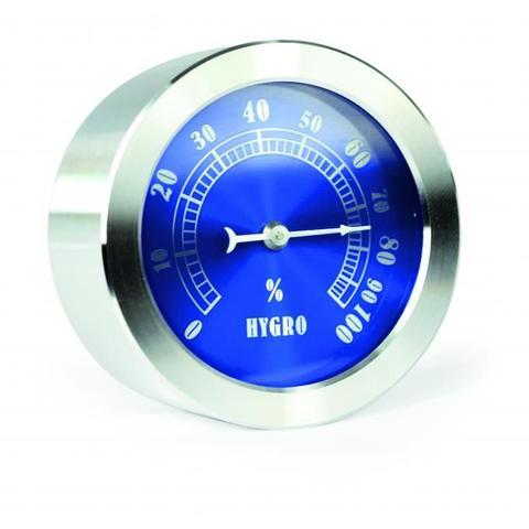 Imagem de Higrômetro bimetalico inox fundo azul
