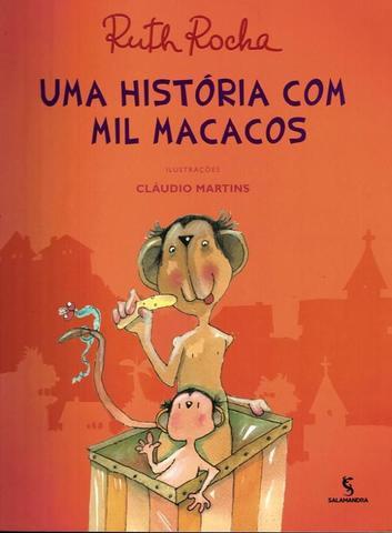 Imagem de Historia com mil macacos, uma