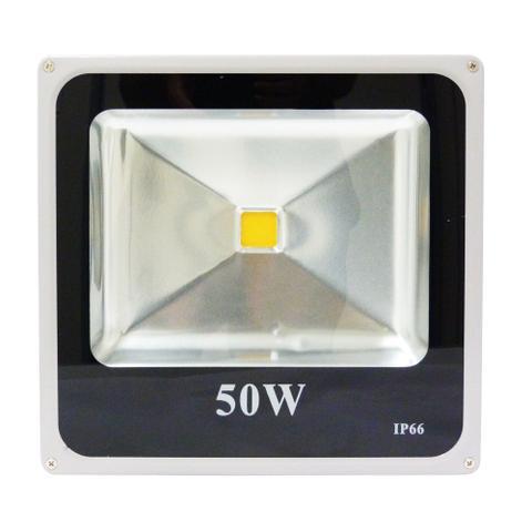 Imagem de Holofote Refletor Led 50w Branco Quente 3000k Bivolt