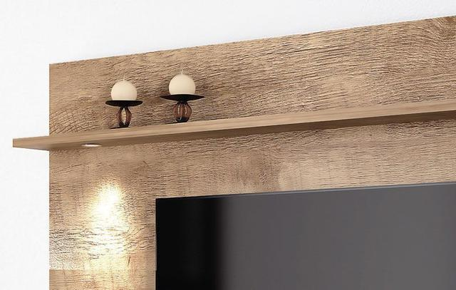 Imagem de Home Suspenso 2.2 Vidratto Madeira com Off White Imcal