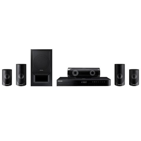 Imagem de Home Theater Blu-ray 3D Samsung HT-J5500K Bluetooth, USB, HDMI, Karaokê - Bivolt