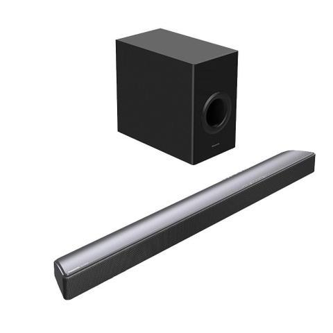 Imagem de Home Theater Soundbar Panasonic SC-HTB688PBK, 3.1 canais, Subwoofer, Bluetooth, 300W RMS, USB, HDMI