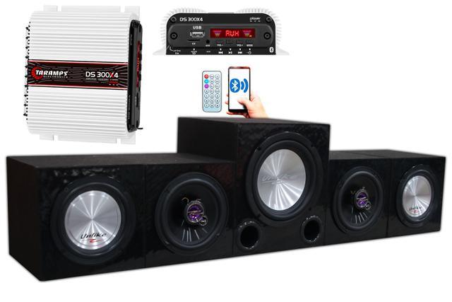 Imagem de Home Theater Taramps Bluetooth 4.1 Tv Pc Note Usb Sd Fm Aux
