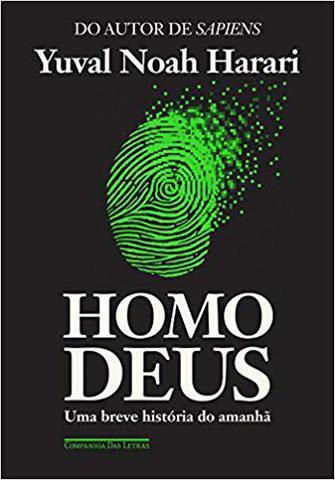 Imagem de Homo deus - cia das letras