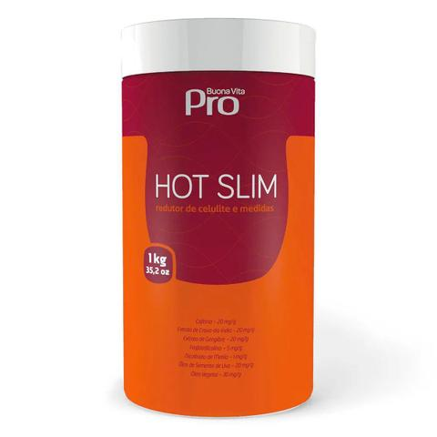 Imagem de Hot Slim Buona Vita Pro - 1kg Redutor De Celulite E Medidas