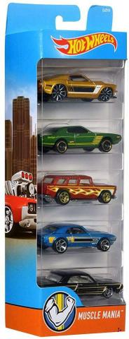 Imagem de Hot Wheels - Pacote 5 carros SORTIDOS