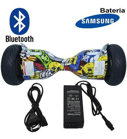 Imagem de Hoverboard 2 Rodas 10 Polegadas + Carrinho Assento Hoverkart Bluetooth BW057-058 Colorido Bolsa