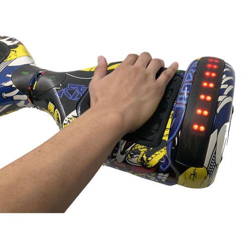 Imagem de Hoverboard Skate Elétrico Smart Balance Leds Aro 6,5 GRAFITI