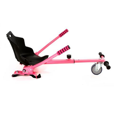 Imagem de Hoverkart Carrinho Scooter Skate Pink Para Hoverboard Universal Com Regulagem Modelos 6,5, 8,10