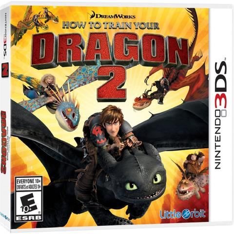 Imagem de How to train your dragon 2: the video game -  3ds