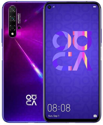 Celular Smartphone Huawei Nova 5t 128gb Roxo - Dual Chip