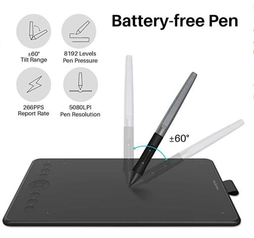Imagem de Huion Inspiroy Ink H320M Tablet de desenho