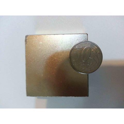 Imagem de Imã De Neodímio N50 Super Forte 50,8mm X 50,8mm X 25,4mm
