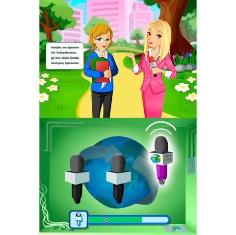 Imagem de Imagine Reporter Jogo Infantil Nintendo Ds Ubisoft