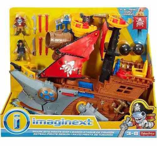 Imagem de Imaginext Navio Pirata Tubarão - Mattel Dhh61