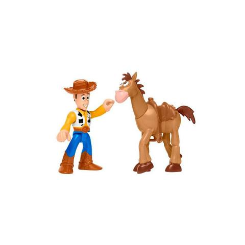 Imagem de Imaginext Toy Story 4 Woody e Bala no Alvo - Mattel