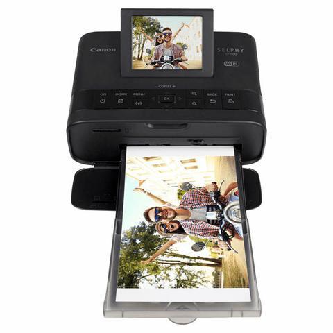 Imagem de Impressora Canon Selphy CP1300 WiFi Portátil + 108 Papéis p/ Foto