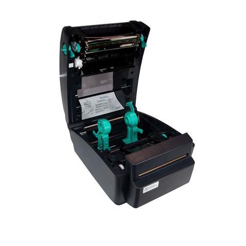 Impressora Térmica Etiqueta Tsc Ttp-245c Transferência Térmica Monocromática Usb, Serial, Paralela e Ethernet Bivolt
