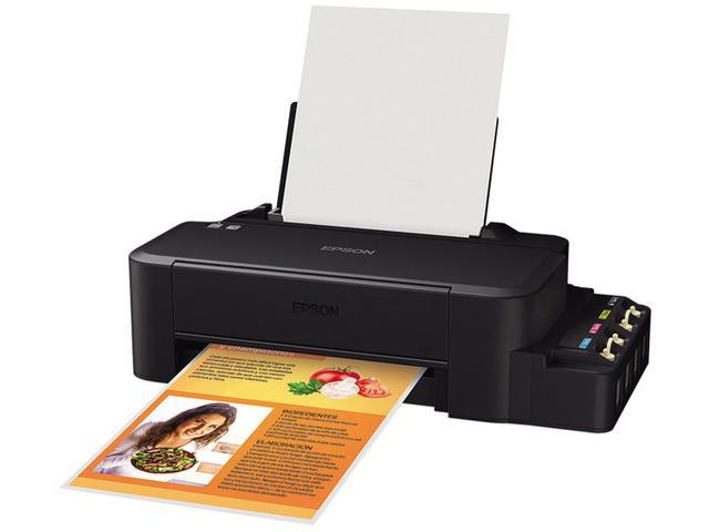 Impressora Convencional Epson Ecotank C11cd76201 L120 Jato de Tinta Colorida Usb, Bluetooth e Wifi Bivolt