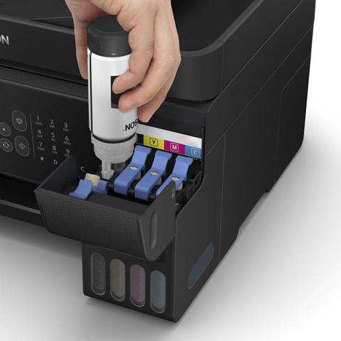 Imagem de Impressora Epson L5190 Ecotank Multifuncional Wi-Fi Rede 33PPM ADF
