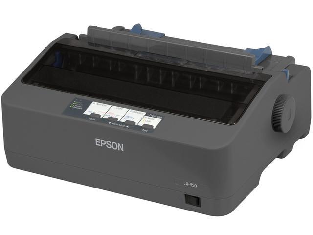 Imagem de Impressora Epson LX-350 Matricial Preto e Branco